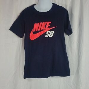 good texture best cheap to buy Details about Nike Skateboarding T Shirt Short Sleeve Boys Sz S Blue White  Pink 8-10 Yrs