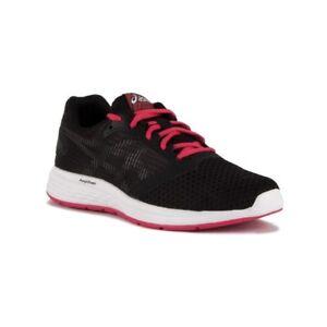 Asics women T669N Strada su Corsa pink Nera Scarpa shoes