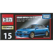 Takara Tomy Tomica Premium #15 Subaru Impreza 22B-Sti 1/61 Diecast Car JAPAN FS