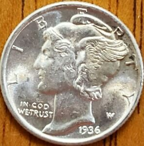 1936-Mercury-Dime-Uncirculated-Check-it-Out-AA157-8