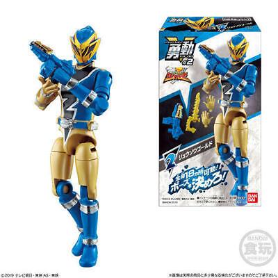 Japan Rare Power Rangers Shokugan Yu-Do Ryusoulger Wave1 Complete set Figures