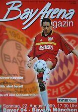 Programm 1999/00 Bayer 04 Leverkusen - Bayern München