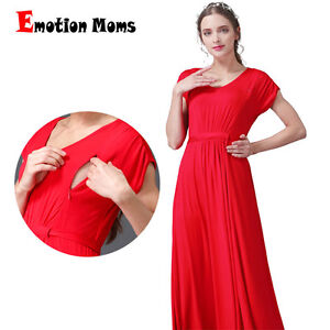 7e7ca912c6812 Image is loading Party-Maternity-Dress-Summer-Nursing-Breastfeeding-Dresses -For-