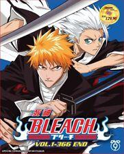 2 X Anime DVD Bleach Complete Series Vol. 1-366 End English Sub Ship