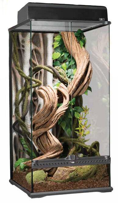 Exo Terra Paludarium - Terrarium aus Glas - Glasterrarium - 45x45x90cm