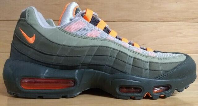 sports shoes 5cfec cb03e Nike Air Max 95 OG Size 10.5 String Total Orange Neutral Oliver Shoe  AT2865-200