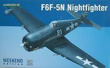 Eduard 1/48 EDK84133 Grumman F6F-5N Hellcat, Nightfighter edición de fin de semana