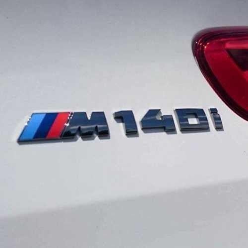 BMW NEW GENUINE F20 F21 1 SERIES M140i CHROME TRUNK BADGE M SPORT 51148067077