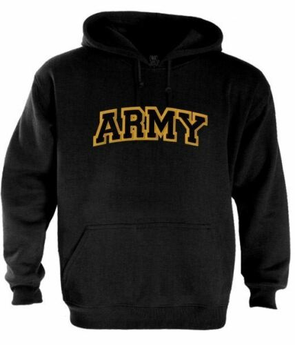 ARMY Logo Embroidered patch Hoodie USA Military Special Forces Training
