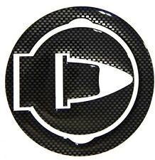 MOTORCYCLE FUEL TANK CAP 3D COVER STICKER PROTECTOR CARBON LOOK APRILIA