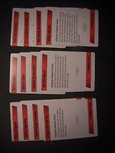 12 Adeptus Astartes Kill Team Tactics Cards (bits)