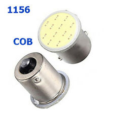 2x bombilla Led Automovil S25 1156 Led COB 12 SMD 1156 BA15S P21W blanco 12 V