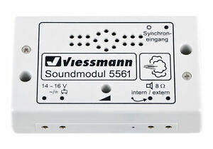 Viessmann-5561-Module-de-Sons-Mauvais-Manieren-Neuf