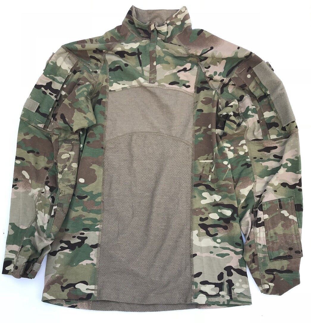 US Army Massif OCP Multicam ACS Massif Army Type II TACTICAL OUTDOOR ISAF Combat shirt small 9b8973