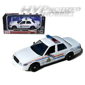 Motormax 1//24 RCMP Royal Canadian Mounted Police Ford Crown Victoria 76483