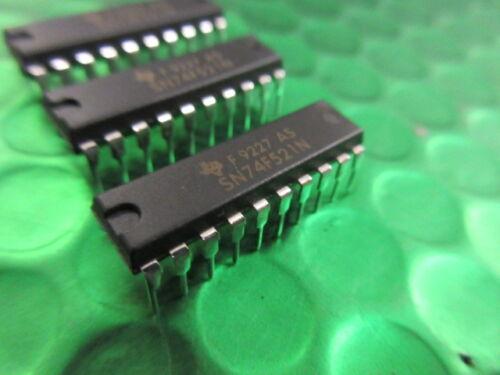 SN74F521N 8 bits circuito comparador de identidad ** 5 por Venta ** Texas Instruments