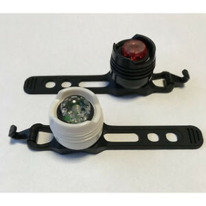 2 led fahrradlampe fahrrad licht lampe set frontlicht. Black Bedroom Furniture Sets. Home Design Ideas