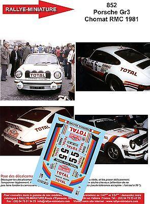 FFSMC Productions Decals 1//24 Porsche SCRS Tour de Corse 1985