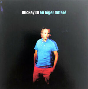 Mickey-3d-CD-Single-En-Leger-Differe-Promo-France-EX-M
