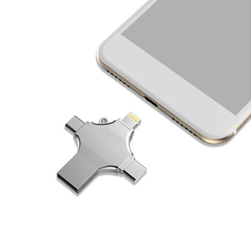 US 64GB 512GB Pendrive USB Flash Drive Memory Stick For iPhone Android Type C