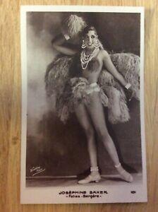 Josephine-Baker-alte-Starpostkarte