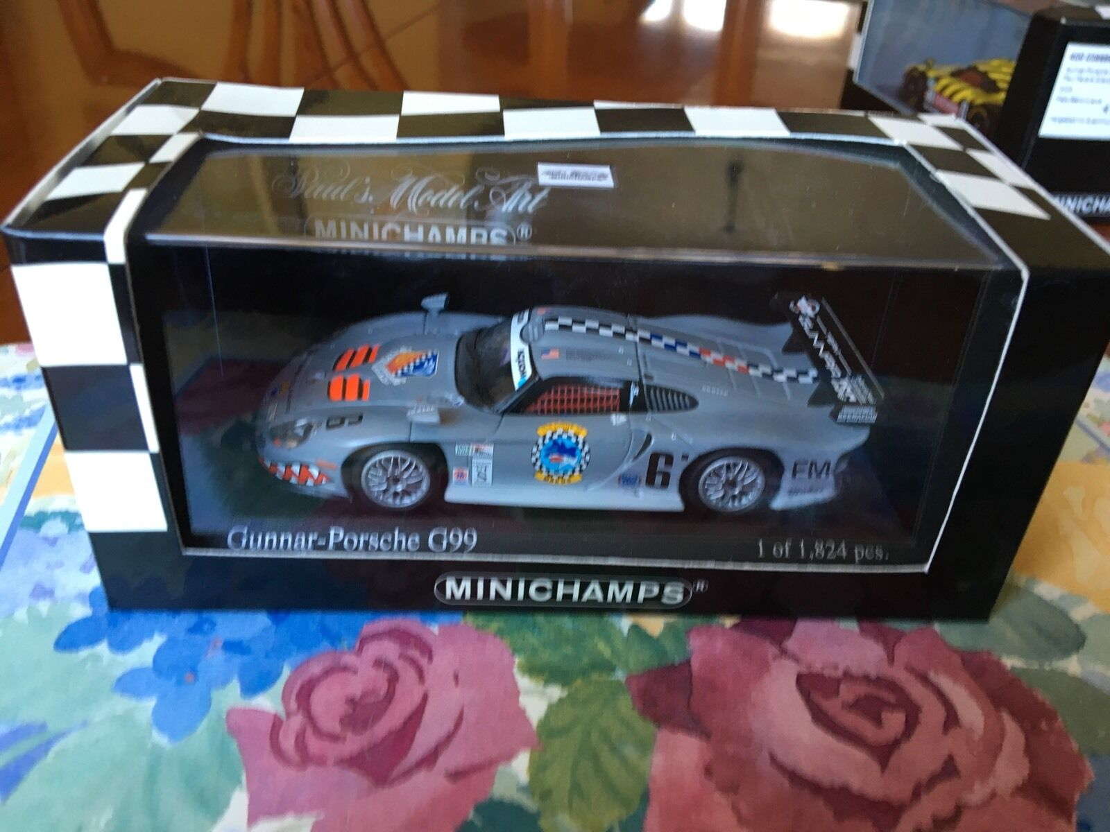 Minichamps Gunner-Porsche G99. Nextel Grand Prix, Miami 2003. In 1 43 scale