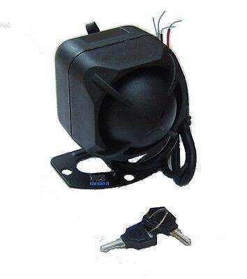 12V 6 Tone Battery Backup Siren for NCS/ SPY Car Alarm 120dB. (+) and(-) trigger
