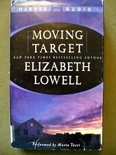 Moving Target by Elizabeth Lowell (2001, Cassette, Abridged)