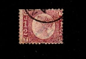 Great Britain stamp #58, used, Queen Victoria, SCV $22.00