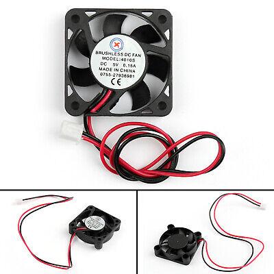 4x DC Brushless Ventilateur de Refroidissement 5V 0.15A 4010s 40x40x10mm 2 Pin | eBay