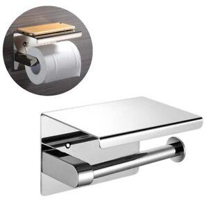 Porte-Papier-Toilette-Auto-adhesif-Support-Papier-Toilettes-pour-Salle-de-Bain