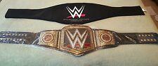WWE COMMEMORATIVE HEAVYWEIGHT CHAMPIONSHIP TITLE BELT. 2014 DEBUT.
