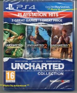 UNCHARTED-Nathan-Drake-collection-034-New-amp-Sealed-039-PS4-Quatre