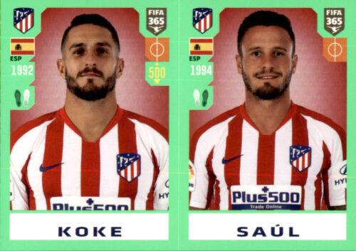 Panini Fifa 365 2020 Sticker 81 Saul Koke