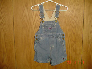 4ae4c802 Image is loading TOMMY-HILFIGER-JEANS-Blue-Jean-Carpenter-Coveralls-Overalls -