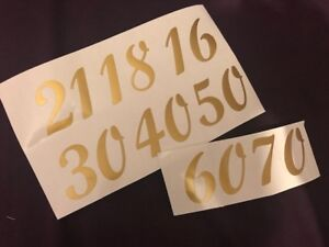 Numbers-Glass-Craft-Cards-Vinyl-Stickers-Decals-Homemade-Letters-Stencil