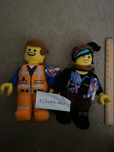 Lego The Lego Movie 2 Batman Wyldstyle Lucy Emmet Turkish Airlines RARE Lego Toy