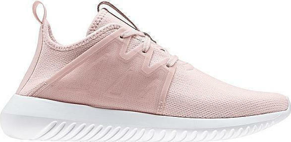 Women's Adidas Tubular Viral 2 Ice Pink White running training BY2122