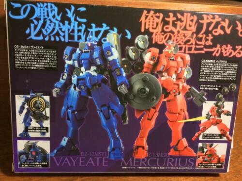 Robot Spirits Mobile Suit Gundam Wing Vayeate /& Mercurius Action Figure Bandai
