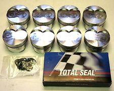OLDSMOBILE 455 , 40 OVER, GSX FORGED PISTONS (4.165 BORE) AND RING SET