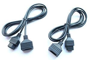 2x-NES-Controller-Verlaengerungskabel-1-8-Meter-fuer-Nintendo-NES