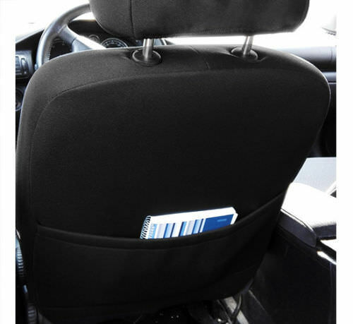 EcoLeather+Fabric Tailored Full Set Seat Covers  VAUXHALL VECTRA C 2002-2008