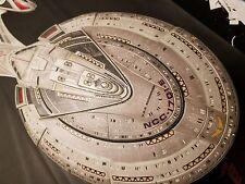 Star Trek USS Enterprise E Model Built 1/1400 scale. Large model with upgrades.