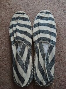 NEW-TOAST-Natural-Espadrilles-Size-42-UK-8-9-Holiday-Summer-Beach