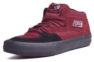 1a10655077 Vans Half Cab Pro Men s Suede Canvas Mid Top Skateboard Shoes Choose ...
