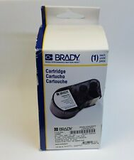 Brady Mc 1500 595 Cl Wt Label Cartridgewhiteclear 15x20 For Bmp 51amp53 New