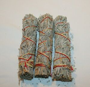 5-Herb-SACRED-FEATHER-Wand-Mini-Smudge-Sage-Stick-3-Pack