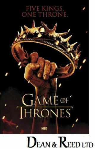 61cm x 91.5cm 0174 Game Of Thrones Maxi Poster Crown
