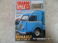 CHARGE UTILE N°151 07/2005 RENAULT 1000 1400 KG ALLIS CHALMERS FAURE  K27