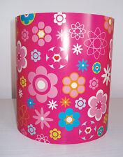 Mädchen Babys Kinderzimmer Pink Blumenmuster Licht Lampen Schirm